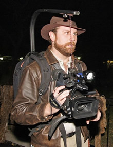Photo of Jeremiah Mitchell with Camera